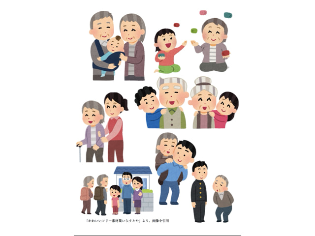 Subjective well-being Felt by the Elderly in a Relation with Grandchildren