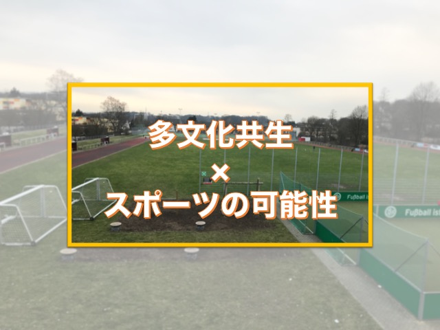The ideal way for community sports in Japan - suggestions from Germany-