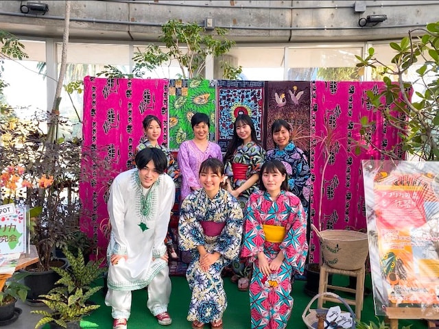 展示「アフリカの森」イベント「秋祭り」@東京都夢の島熱帯植物館